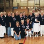 The final day of the Senior Games, a competitive event which brings residents from surrounding counties to the Sportsplex each spring, will be held this year in May. Pictured are members of Knott County's 2008 Senior Games team.