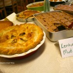 Delicious homemade pies were offered to the public free during the Food Summit event. (Photo by Jordan Thomas Hall)